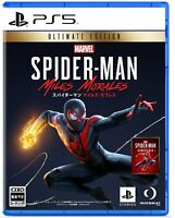 【PS5】Marvel's Spider-Man: Miles Morales Ultimate Edition Play station 5 JP NEW