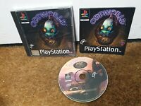 Oddworld: Abes Oddysee (COMPLETE) Sony PlayStation 1, Ps1, Psone Black Label Y8