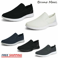 Bruno Marc Mens Loafers Comfort Knit Slip on Walking Casual Shoes Size 6.5-13