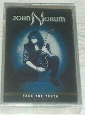 JOHN NORUM FACE THE TRUTH RARE STILL SEALED SWEDEN CASSETTE W. GLENN HUGHES