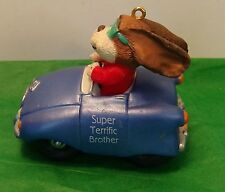 Hallmark Cards Super Terrific Brother Collectible Christmas Ornament Vintage