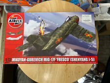 1/72 Airfix #A03091 Mikoyan-Gurevich MiG-17F Fresco