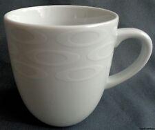 HEMA PORSELEIN WIT MET CIRKELS mok 32cl H9,5cm O8,5cm kop beker mug Tasse chope