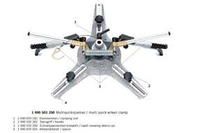 Bosch 1690501250 Beissbarth 932501250 Multi brand Quick Wheel Clamp