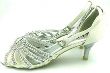 Gold softstep heels size 6