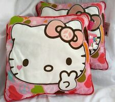 2012 Edition By Sanrio HELLO KITTY Decorative Pillow Sign for Peace