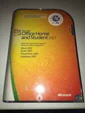 Microsoft Office Home & Student 2007 (Lizenz + Medien) (3) - Vollversion für...