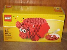 LEGO Red Piggy Bank COINBANK coin bank  # 40155  148 pcs SAME DAY SHIPPING