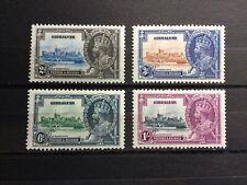 Gibraltar 1935 Silver Jubilee SG 114-117 MNH