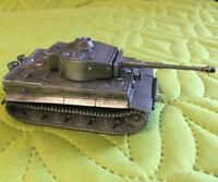 World of tanks WWII 1:72 metal model TIGER German heavy Tank 1lb