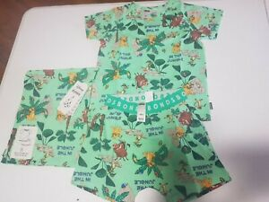 Bonds disney Lion King summer short Sleep Set Size 5 Pyjama BNWT pjs free post