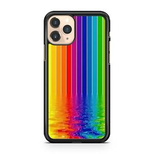 LGBT Gay Pride Lesbian Stunning Stripes Cool Water Reflection Phone Case Cover