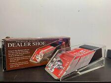 Excalibur ~ 4 Deck ~ Casino Poker/Blackjack Card Dealer Shoe ~ Premium Acrylic