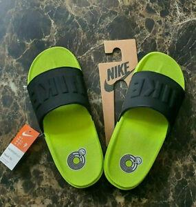 Nike Offcourt Slide Volt Green Comfort Sliders