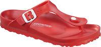 Birkenstock EVA Gizeh WATERPROOF $66rrp - Red - BNIB 128231