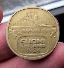 1984 Finland 5 Markkaa