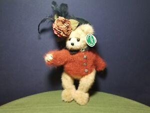 The Bearington Collection Gabby Floral Bear