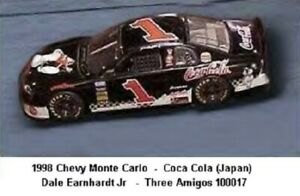 YOU BUILD NASCAR's 1998 Chevy M.C. in Japan Coca-Cola #8 Dale Earnhardt Jr.