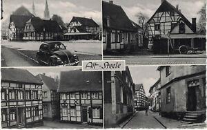 Steele - Alte Ansichtskarte Essen - Alt - Steele - gelaufen 1962