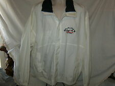 Vintage Stardust GRAND PRIX of BLACKJACK Men's Jacket Full Zip Nylon Windbreaker