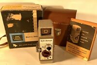 Vintage Bell & Howell Model Two Fifty Two 8mm Film Movie Camera w/Original Case