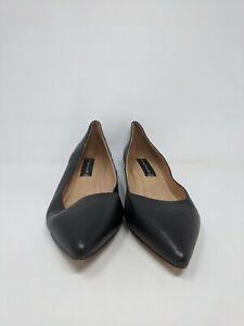 Women's Steven by Steve Madden 'Elatedd' Pointed Toe Flat, Size 8M - Black
