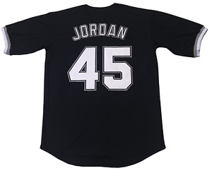 Small Jordan #45 Birmingham Barons Baseball Men Jersey Stitched