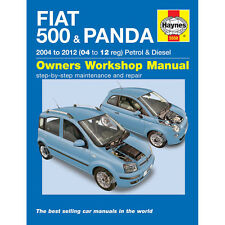 Fiat 500 Panda Haynes Manual 2004-12 1.1 1.2 Petrol 1.3 Diesel Workshop manual