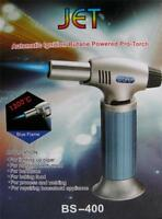 Refillable Gas Butane Blow Torch Jet Lighter Culinary solder cooking chef