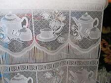 rideaux L 45 cm neuf tasse et cafetière vendu par tranche de 25 cm