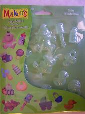 Makin's Clay Push Mold Clay Baby Molds M390 95