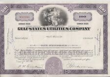 GULF STATES UTILITIES COMPANY ( BEAUMONT,TEXAS)...1968 STOCK CERTIFICATE