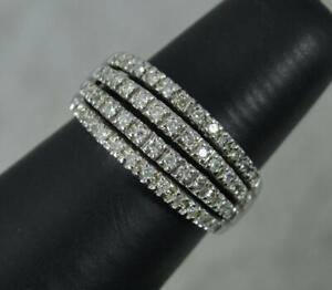 Bling 0.50ct Diamond 9 Carat White Gold Cluster Ring