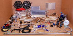 85-98 Ford Escort LX T3 T4 TURBOCHARGER KIT TURBO KIT INTERCOOLER WASTEGATE BOV