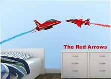 Red Arrows Aerobatic Planes wall sticker -  Large  - No.30