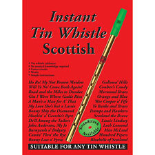 Instant Tin Whistle - Scottish Book Only : Dave Mallinson