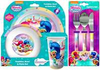 Shimmer and Shine 6-Piece Dinner Set | Tumbler, Plate, Bowl and Cutlery