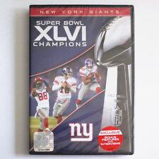 New York Giants Super Bowl XLVI Champions DVD NFL NY Football EXCLUSIVE ACCESS