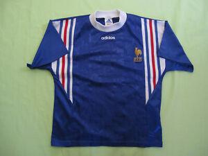 Maillot Equipe de France Domicile Vintage Adidas Enfant - 12 ans