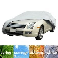 Medium Size Full Car Cover Universal Rain Dust UV Waterproof Protection Covers