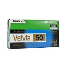 5x Fuji Velvia 50 120 Fujifilm Rollfilm Mittelformatfilm Analogfilm Farbfilm