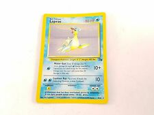 Pokemon TCG Card Lapras Fossil 10/62 Fossil Rare Holo Great Condition