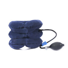 Air Inflatable Neck Pillow Cervical Head Traction pain Relief Therapy Device