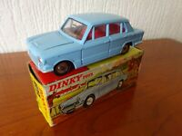TRIUMPH 1300 - DINKY TOY 162 - Die cast model in ORIGINAL BOX - SEE PHOTOS.