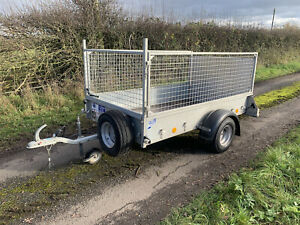 Ifor Williams Trailer P7E Ramp, Spare And Mesh Sides