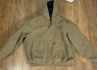 Carhartt Mens Jacket Size  2XL Hooded Jacket
