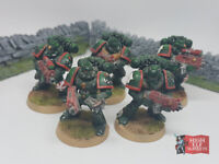 Space Marine Squad with Bolters - Warhammer 40k (Well Painted)