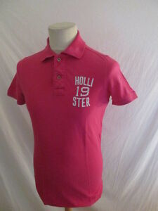 Polo Hollister Rose Taille S à - 52%