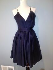 ***New With Tags*Contrarian New York Barbara Bibb Dress Navy Blue Size:2