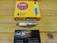 NGK BR9ES SPARK PLUGS NGK PART #3194 SOLID TOP BRAND NEW BOX OF 4 DON'T RUN OUT
